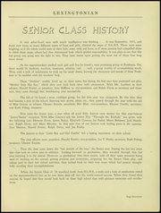 Page 21, 1939 Edition, New Lexington High School - Lexingtonian Yearbook (New Lexington, OH) online yearbook collection