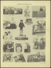 Page 25, 1939 Edition, New Lexington High School - Lexingtonian Yearbook (New Lexington, OH) online yearbook collection