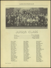 Page 26, 1939 Edition, New Lexington High School - Lexingtonian Yearbook (New Lexington, OH) online yearbook collection