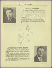 Page 29, 1939 Edition, New Lexington High School - Lexingtonian Yearbook (New Lexington, OH) online yearbook collection