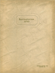 New Lexington High School - Lexingtonian Yearbook (New Lexington, OH) online yearbook collection, 1940 Edition, Page 1