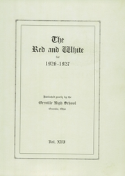 Page 5, 1927 Edition, Orrville High School - Red and White Yearbook (Orrville, OH) online yearbook collection