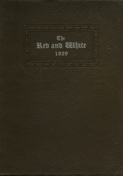 Page 1, 1929 Edition, Orrville High School - Red and White Yearbook (Orrville, OH) online yearbook collection