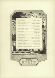 Page 8, 1929 Edition, Orrville High School - Red and White Yearbook (Orrville, OH) online yearbook collection