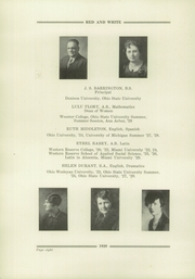 Page 10, 1930 Edition, Orrville High School - Red and White Yearbook (Orrville, OH) online yearbook collection