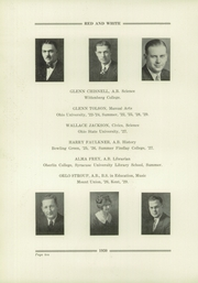 Page 12, 1930 Edition, Orrville High School - Red and White Yearbook (Orrville, OH) online yearbook collection
