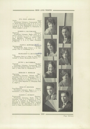 Page 15, 1930 Edition, Orrville High School - Red and White Yearbook (Orrville, OH) online yearbook collection