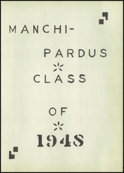 Page 5, 1948 Edition, Manchi Pardus High School - Manchi Pardus Yearbook (Manchester, OH) online yearbook collection