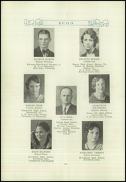 Page 14, 1932 Edition, Brookfield High School - Echo Yearbook (Brookfield, OH) online yearbook collection