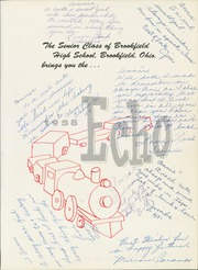 Page 5, 1958 Edition, Brookfield High School - Echo Yearbook (Brookfield, OH) online yearbook collection