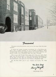 Page 7, 1958 Edition, Brookfield High School - Echo Yearbook (Brookfield, OH) online yearbook collection