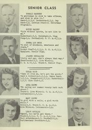 Page 15, 1949 Edition, Oak Harbor High School - Spyglass Yearbook (Oak Harbor, OH) online yearbook collection