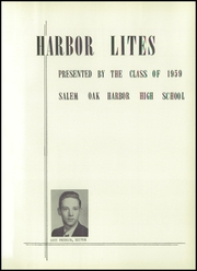 Page 5, 1959 Edition, Oak Harbor High School - Spyglass Yearbook (Oak Harbor, OH) online yearbook collection