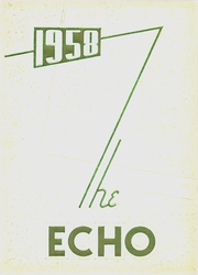 Page 1, 1958 Edition, Elyria District Catholic High School - Echo Yearbook (Elyria, OH) online yearbook collection