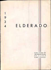 Page 5, 1934 Edition, Elder High School - Elderado Yearbook (Cincinnati, OH) online yearbook collection