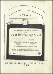 Page 7, 1946 Edition, Wellsville High School - Tiger Stripe Yearbook (Wellsville, OH) online yearbook collection