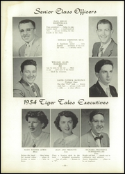 Page 14, 1954 Edition, Wellsville High School - Tiger Stripe Yearbook (Wellsville, OH) online yearbook collection