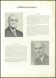 Page 9, 1954 Edition, Wellsville High School - Tiger Stripe Yearbook (Wellsville, OH) online yearbook collection