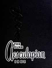 Page 1, 1963 Edition, Duke University School of Medicine - Aesculapian Yearbook (Durham, NC) online yearbook collection