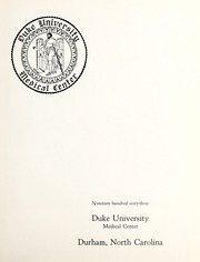 Page 5, 1963 Edition, Duke University School of Medicine - Aesculapian Yearbook (Durham, NC) online yearbook collection