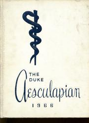 1966 Edition, Duke University School of Medicine - Aesculapian Yearbook (Durham, NC)