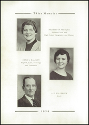 Page 12, 1938 Edition, Taylor High School - Thiso Memoirs Yearbook (Cleves, OH) online yearbook collection