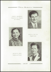 Page 13, 1938 Edition, Taylor High School - Thiso Memoirs Yearbook (Cleves, OH) online yearbook collection