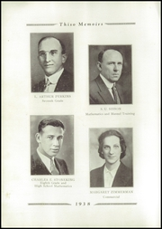 Page 16, 1938 Edition, Taylor High School - Thiso Memoirs Yearbook (Cleves, OH) online yearbook collection