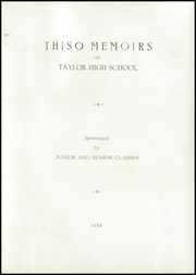 Page 5, 1938 Edition, Taylor High School - Thiso Memoirs Yearbook (Cleves, OH) online yearbook collection