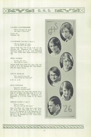 Page 17, 1926 Edition, Granville High School - Blue and White Yearbook (Granville, OH) online yearbook collection