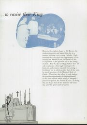 Page 11, 1953 Edition, St Xavier High School - X Ray Yearbook (Cincinnati, OH) online yearbook collection