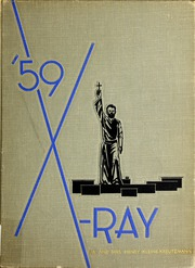 1959 Edition, St Xavier High School - X Ray Yearbook (Cincinnati, OH)