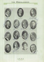 Page 15, 1931 Edition, Grandview Heights High School - Highlander Yearbook (Columbus, OH) online yearbook collection