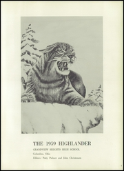 Page 5, 1959 Edition, Grandview Heights High School - Highlander Yearbook (Columbus, OH) online yearbook collection