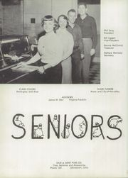 Page 10, 1954 Edition, Johnstown High School - Beacon Yearbook (Johnstown, OH) online yearbook collection