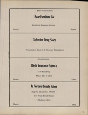 Page 93, 1958 Edition, Avon High School - Highlights Yearbook (Avon, OH) online yearbook collection