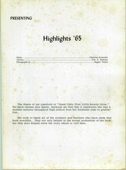 Page 5, 1965 Edition, Avon High School - Highlights Yearbook (Avon, OH) online yearbook collection