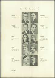 Page 12, 1931 Edition, Oberlin High School - O High Yearbook (Oberlin, OH) online yearbook collection
