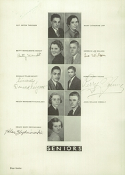 Page 14, 1937 Edition, Oberlin High School - O High Yearbook (Oberlin, OH) online yearbook collection