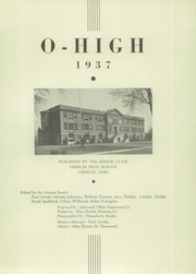 Page 5, 1937 Edition, Oberlin High School - O High Yearbook (Oberlin, OH) online yearbook collection