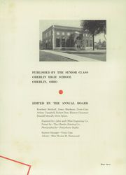 Page 7, 1938 Edition, Oberlin High School - O High Yearbook (Oberlin, OH) online yearbook collection