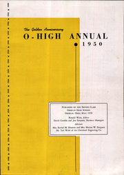 Page 5, 1950 Edition, Oberlin High School - O High Yearbook (Oberlin, OH) online yearbook collection