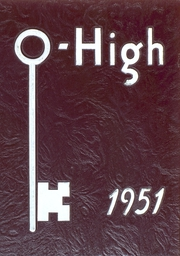1951 Edition, Oberlin High School - O High Yearbook (Oberlin, OH)