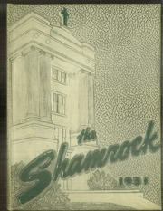 1951 Edition, St Vincent High School - Shamrock Yearbook (Akron, OH)