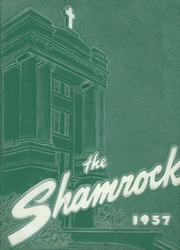 1957 Edition, St Vincent High School - Shamrock Yearbook (Akron, OH)