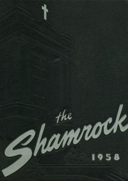 St Vincent High School - Shamrock Yearbook (Akron, OH) online yearbook collection, 1958 Edition, Page 1