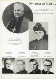 Page 14, 1958 Edition, St Vincent High School - Shamrock Yearbook (Akron, OH) online yearbook collection