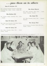 Page 17, 1958 Edition, St Vincent High School - Shamrock Yearbook (Akron, OH) online yearbook collection