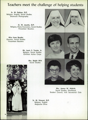 Page 14, 1966 Edition, St Vincent High School - Shamrock Yearbook (Akron, OH) online yearbook collection