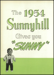 Page 6, 1954 Edition, Bridgeport High School - Sunnyhill Yearbook (Bridgeport, OH) online yearbook collection